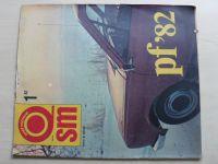 Svět motorů 1-52 (1982) ročník XXXVI.