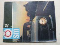 Svět motorů 45 (1973) ročník XXVII.