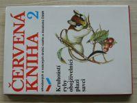 Červená Kniha 2 ohrožených a vzácných druhů rostlin a živočichů ČSSR (1990)