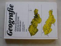 Mištera - Geografie Československé socialistické republiky (1984)