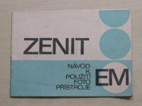 Návod k použití fotopřístroje ZENIT EM (nedatováno)