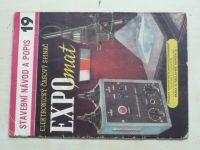 Stavební návod a popis 19 - Janda, Dufek - Elektronický časový spínač EXPOMAT (nedatováno)