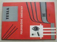 TESLA - Polovodičové součástky (1981)