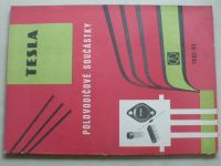 TESLA - Polovodičové součástky (1982-83)