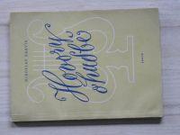 Barvík - Hovory o hudbě - O vzniku a vývoji hudebních slohů (1961)
