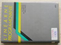 Plesník, Dupačová, Vlach - Lineárne programovanie (1990) slovensky