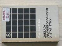 Rublík - Základy pravdepodobnosti a štatistiky (1983) slovensky
