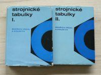 Vrzal a kol. - Strojnické tabulky I. II. (1972) 2 knihy