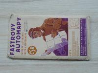 Fastrovy automapy list 6. - 1 : 300 000- Juhovýchodné Moravskoslezsko, Západné Slovensko (nedatováno