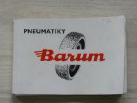 Pneumatiky Barum, obchodní podnik Gottwaldov - Katalog 1974