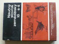 Naučný slovník zemědělský 10 s-š (1984)