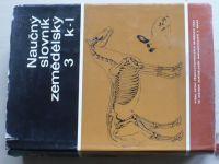 Naučný slovník zemědělský 3 k-l (1971)