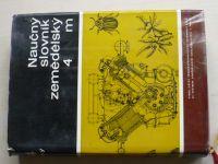 Naučný slovník zemědělský 4 m (1972)