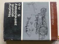 Naučný slovník zemědělský 5 n-o (1972)