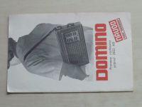 Návod - Domino - Prenosný rozhlasový prijímač 2832 AB (nedatováno) slovensky