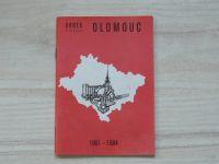 Okres v číslech - Olomouc 1961 - 1984 (1985)