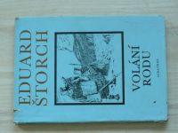 Štorch - Volání rodu, il. Z. Burian (1976)