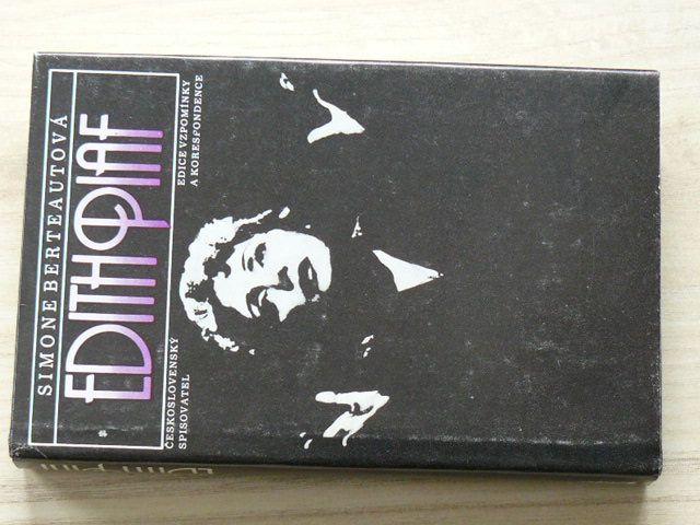Berteautová - Edith Piaf (1985)