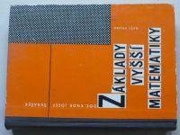 RNDr. Škrášek - Základy vyšší matematiky (1966)