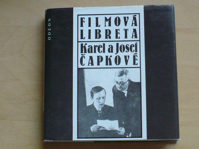 Filmová libreta - Karel a Josef Čapkové (1989)