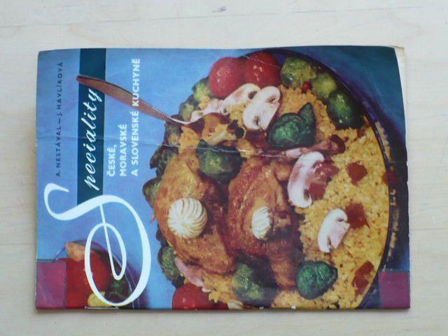 Nestával - Speciality české, moravské a slovenské kuchyně (1969) sešit