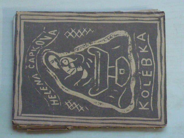 Čapková - Kolébka (1922) obálka Josefa Čapka