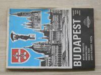 Mapa - Budapest - centrum (1988/89)