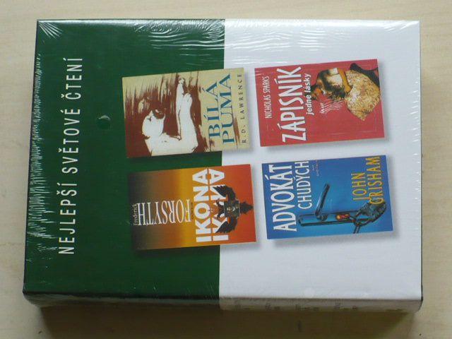 Nejlepší světové čtení - Ikona, Advokát chudých, Bílá puma, Zápisník jedné lásky