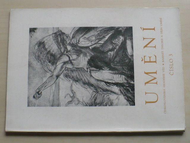 Umění 3 (1954) ročník II.