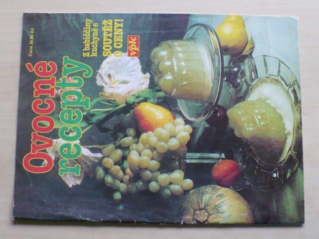 Z babiččiny kuchyně 6 - Ovocné recepty (1995)
