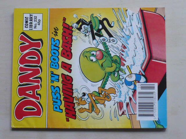 """Dandy - Puss n Boots in ,,having a bash!"""" (1992) anglicky"""