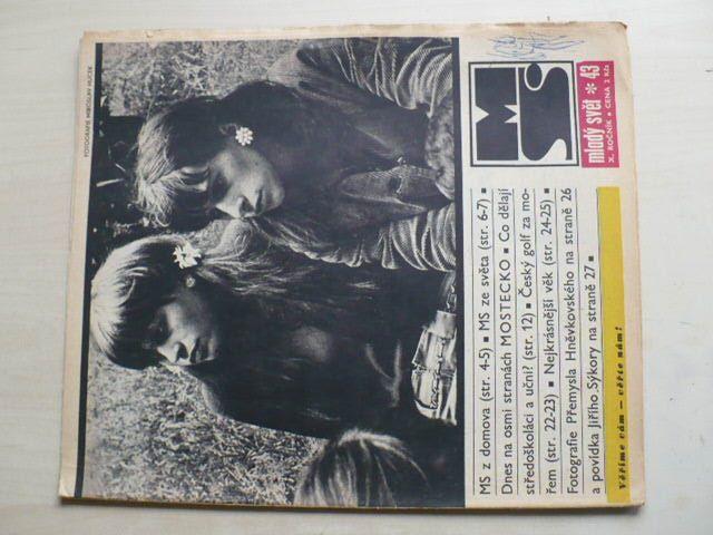 Mladý svět 43 (1968) ročník X.