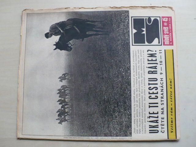 Mladý svět 45 (1968) ročník X.