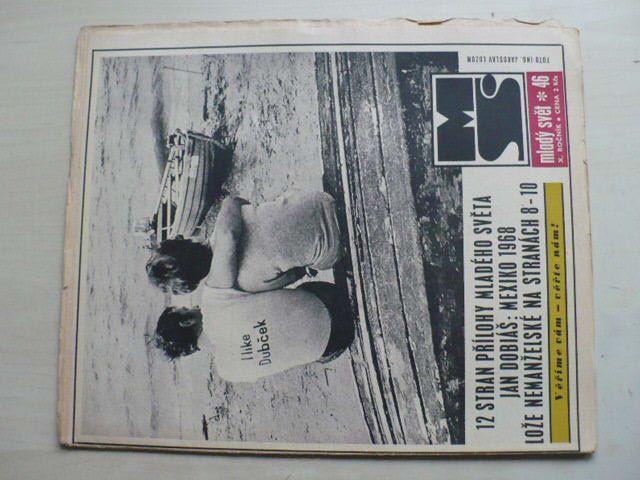 Mladý svět 46 (1968) ročník X.