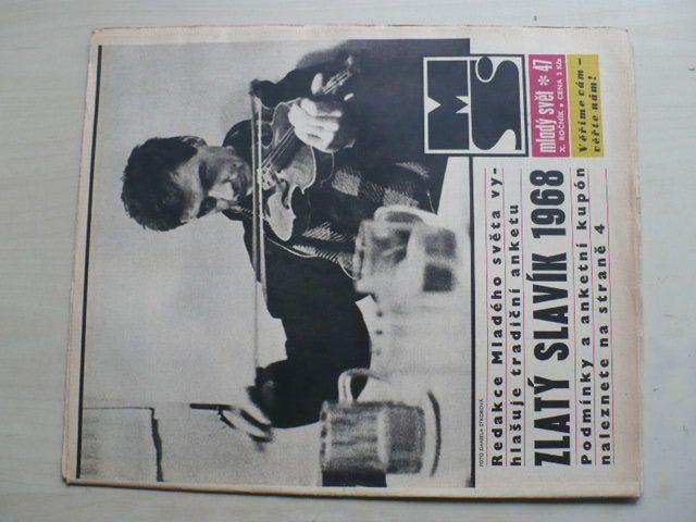Mladý svět 47 (1968) ročník X.