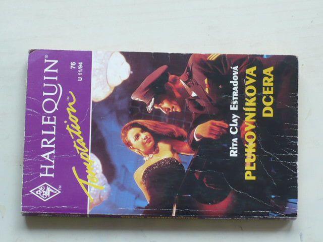 Harlequin Temptation 76 - Estradová - Plukovníkova dcera (1994)