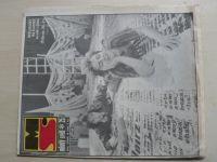 Mladý svět 1-52 (1985) ročník XXVII. (chybí čísla 12-13, 15-18, 20, 23-24, 27, 29, 41 čísel)