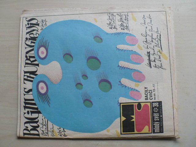 Mladý svět 38 (1983) ročník XXV.