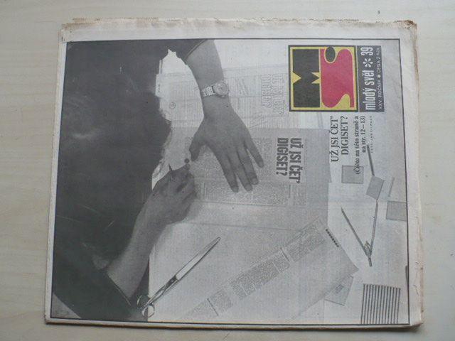 Mladý svět 39 (1983) ročník XXV.