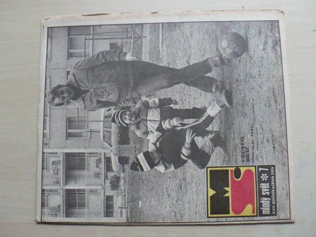 Mladý svět 7 (1983) ročník XXV.