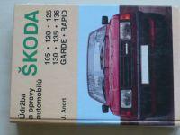 Andrt - Údržba a opravy automobilů Škoda 105, 120, 125, 130, 135, 136, Garde, Rapid (1995)
