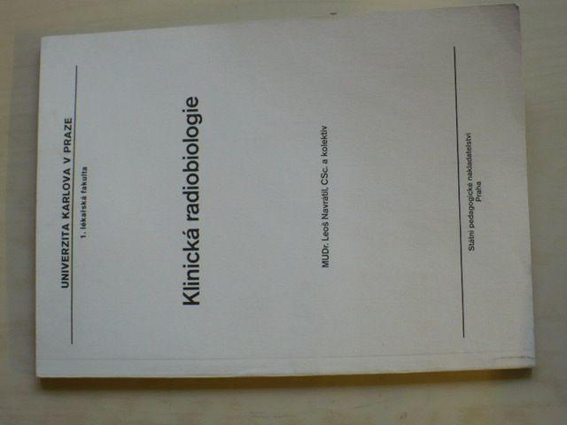 Navrátil - Klinická radiobiologie (1990)