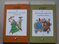 Holcová - Lidi 1,2 -  aneb Duch národa je nejlépe cítit v přeplněném autobuse (2001) 2 knihy
