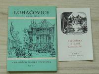 Luhačovice - 10 dopisnic - v kresbách Zdeňka Volejníka (1970)