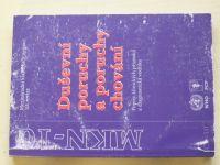 Duševní poruchy a poruchy chování - Popisy klinických příznaků a diagnostická vodítka (2000)