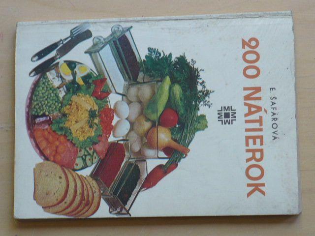 Šafářová - 200 nátierok (1978)