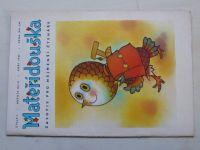 Mateřídouška 1 (1986) ročník XLIII.