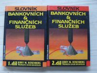 Rosenberg - Slovník bankovních & finančních služeb 1.- 4. (1992) 4 knihy