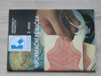 Ministerstvo financí ČR - Druhá vlna - Informační příručka (1993)