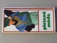 Pletená móda (nedatováno) česky, německy, rusky